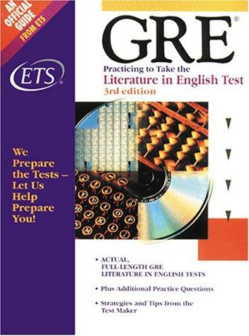 GRE by Educational Testing Service., Graduate Record Examinations Board