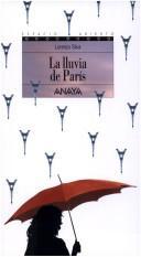 Libro de segunda mano: La lluvia de Paris