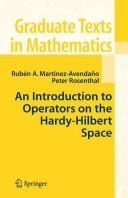 An introduction to operators on the Hardy-Hilbert space by Rubén A. Martínez-Avendaño